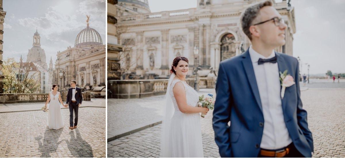 Hochzeitsfotos Dresden Altstadt Brühlsche Terrasse
