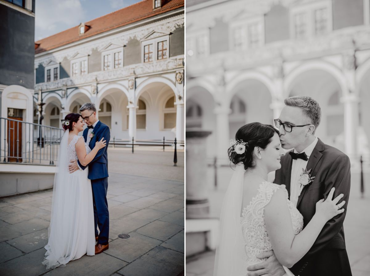 Hochzeitsfotograf Dresden Stallhof Hochzeitslocation Altstadt historische