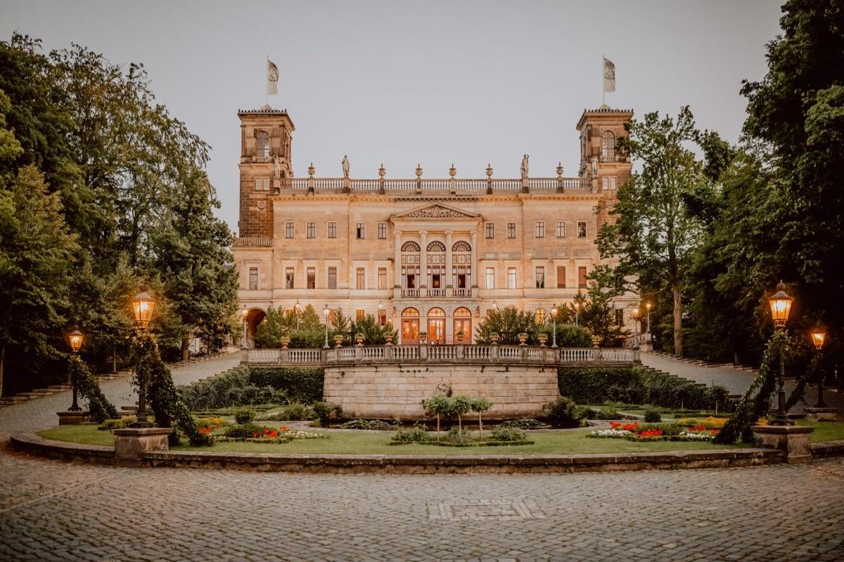 Schloss Albrechtsberg Dresden Hochzeit