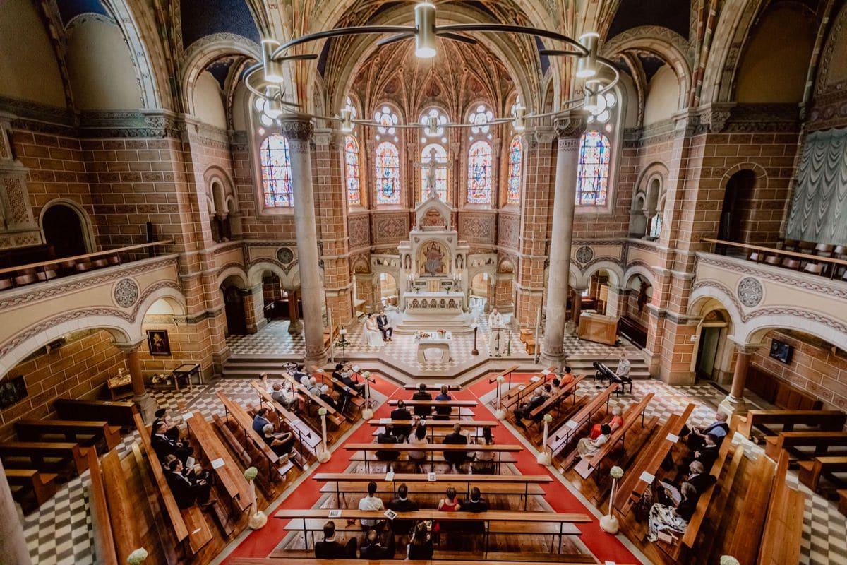 Kirchliche Trauung Simultankirche Dresden Hochzeitsfotograf