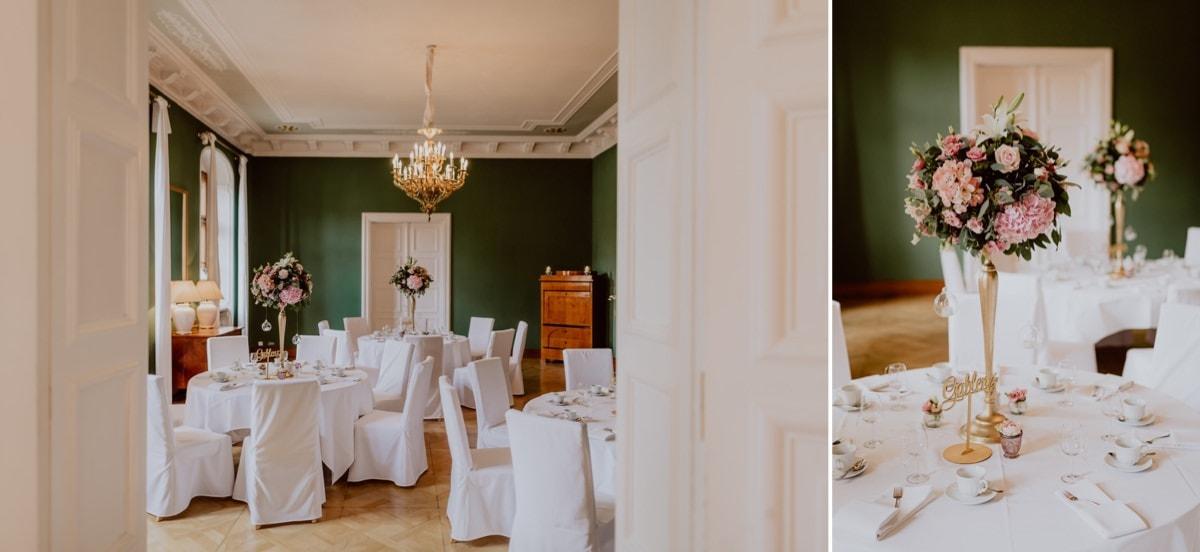 Hochzeitsdeko Schloss Proschwitz Aniko Hochzeiten
