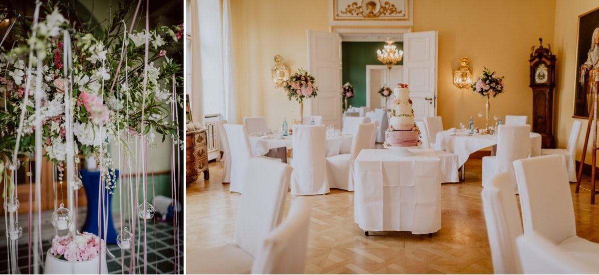 Hochzeitsdeko Schloss Proschwitz Aniko Hochzeiten Torte