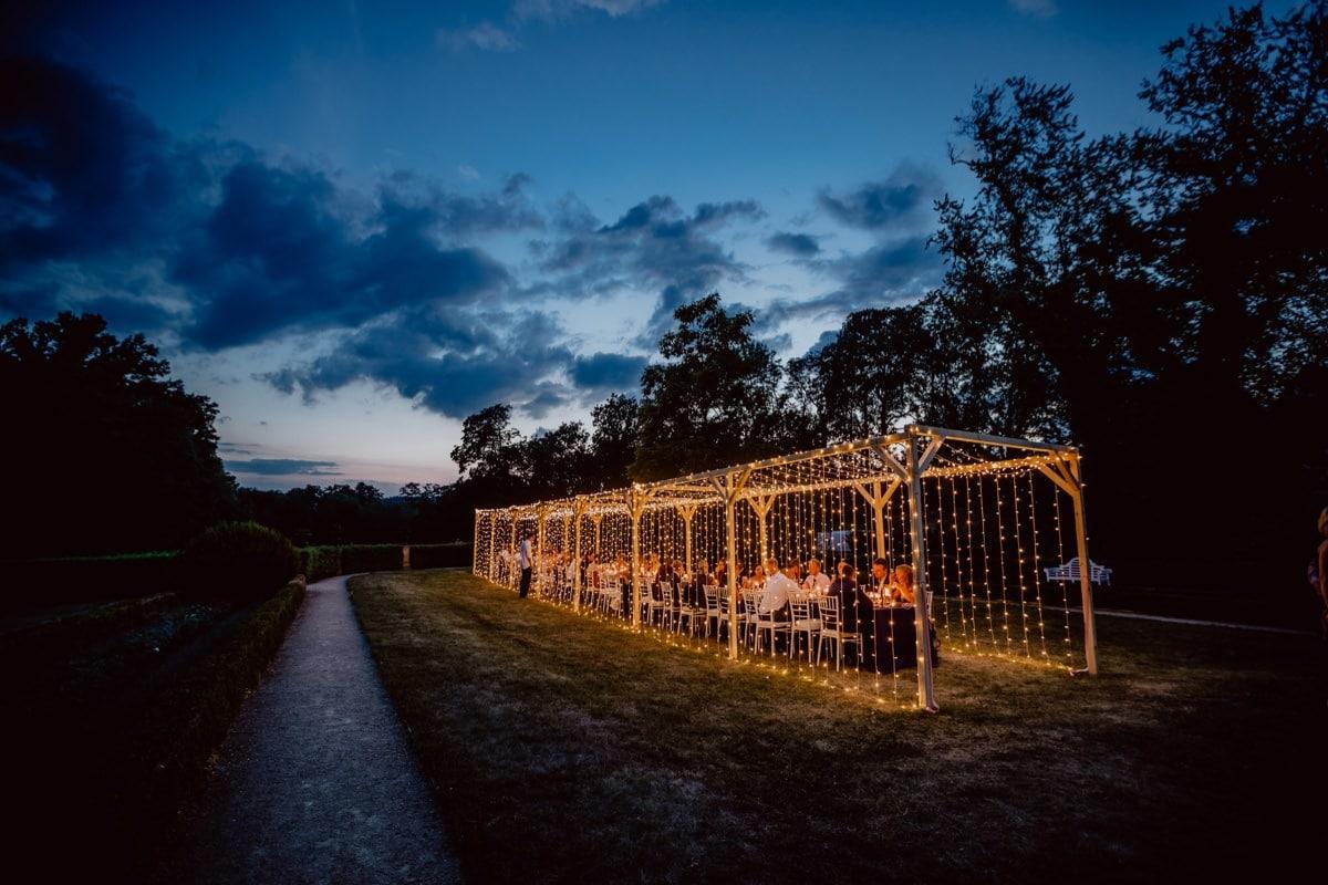 Schloss Proschwitz Hochzeitsfotograf Dresden Lichtertunnel