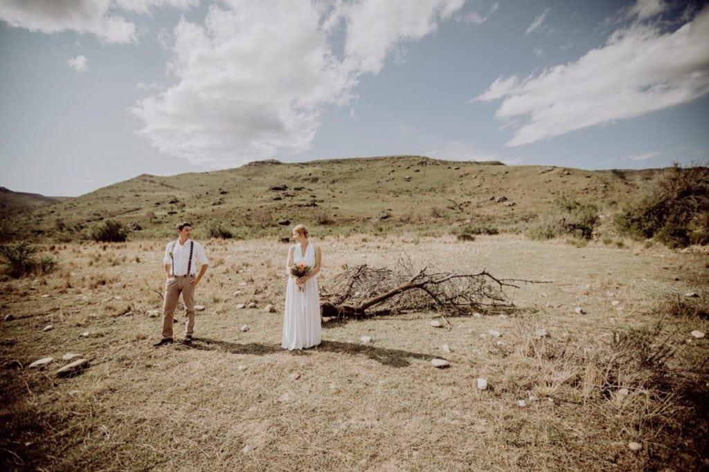 Brautpaar Couple Destinationwedding Gondwana Safari Freiheit Weite