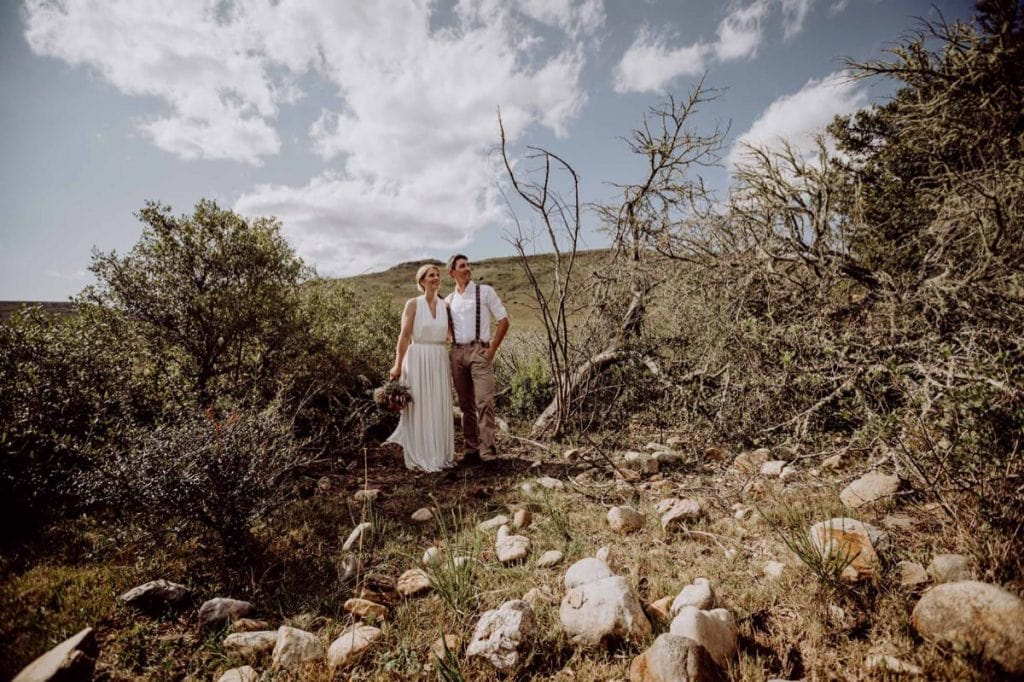 Brautpaar Couple Destinationwedding Gondwana