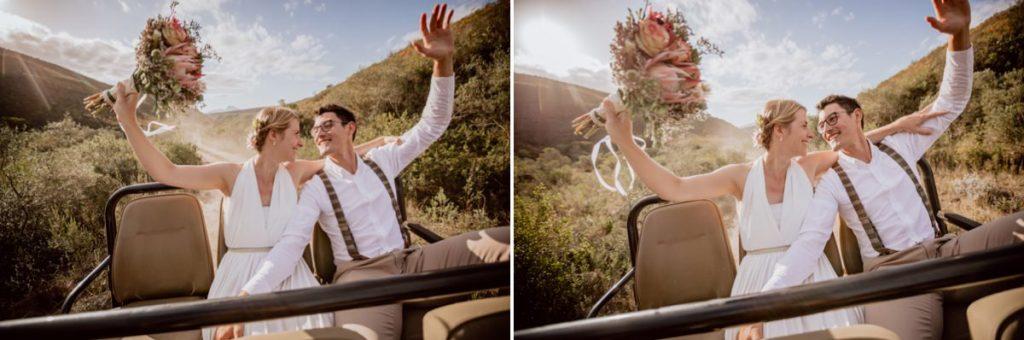 Safari Auslandshochzeit Südafrika Fotograf