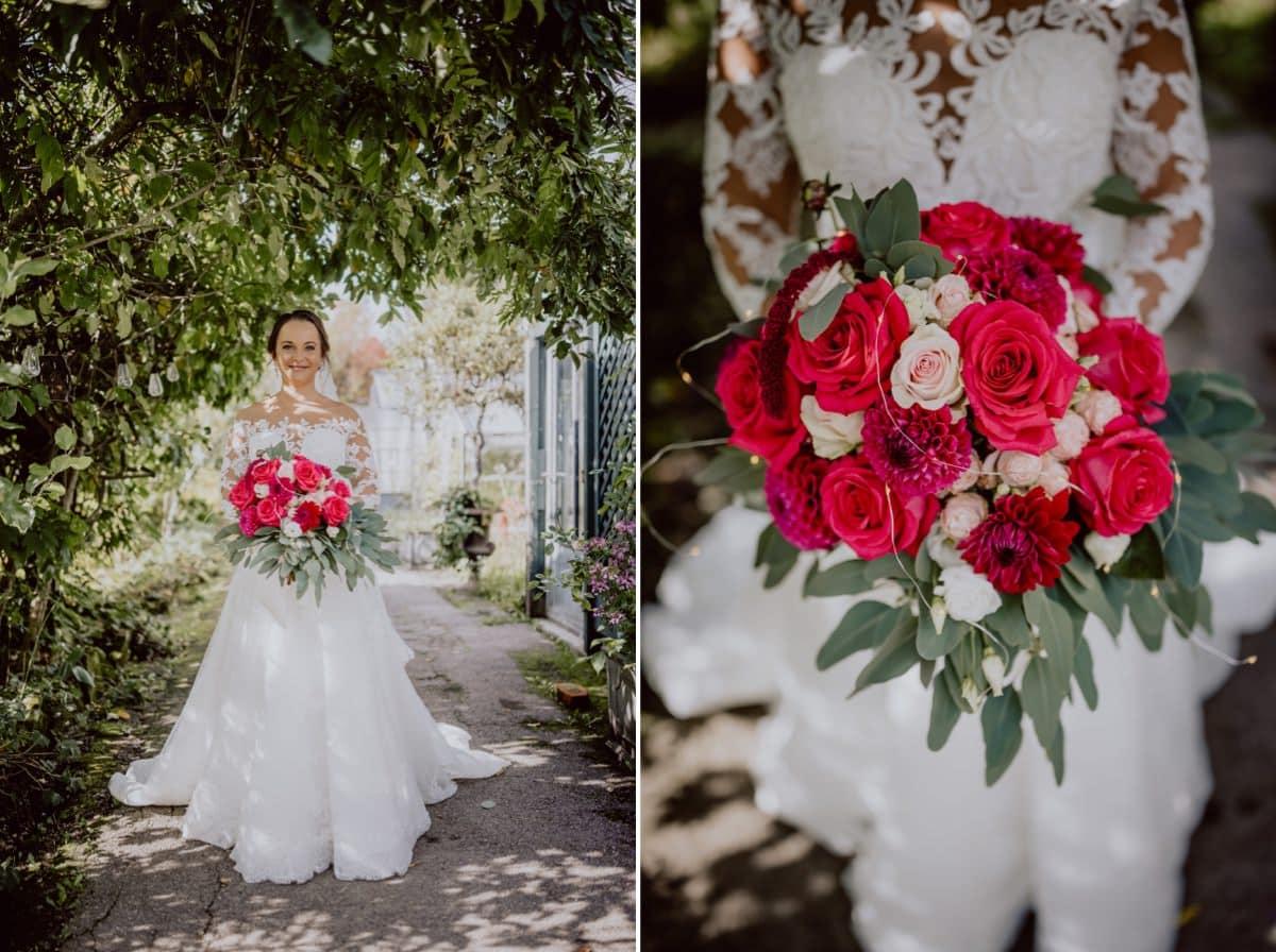 Brautfotos München Hochzeitsblumen Hochzeitsfloristik