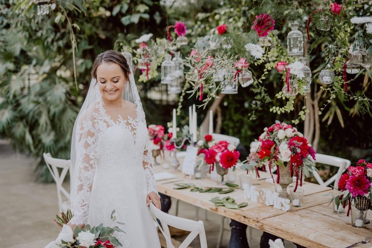 Braut Alte Gärtnerei Taufkirchen