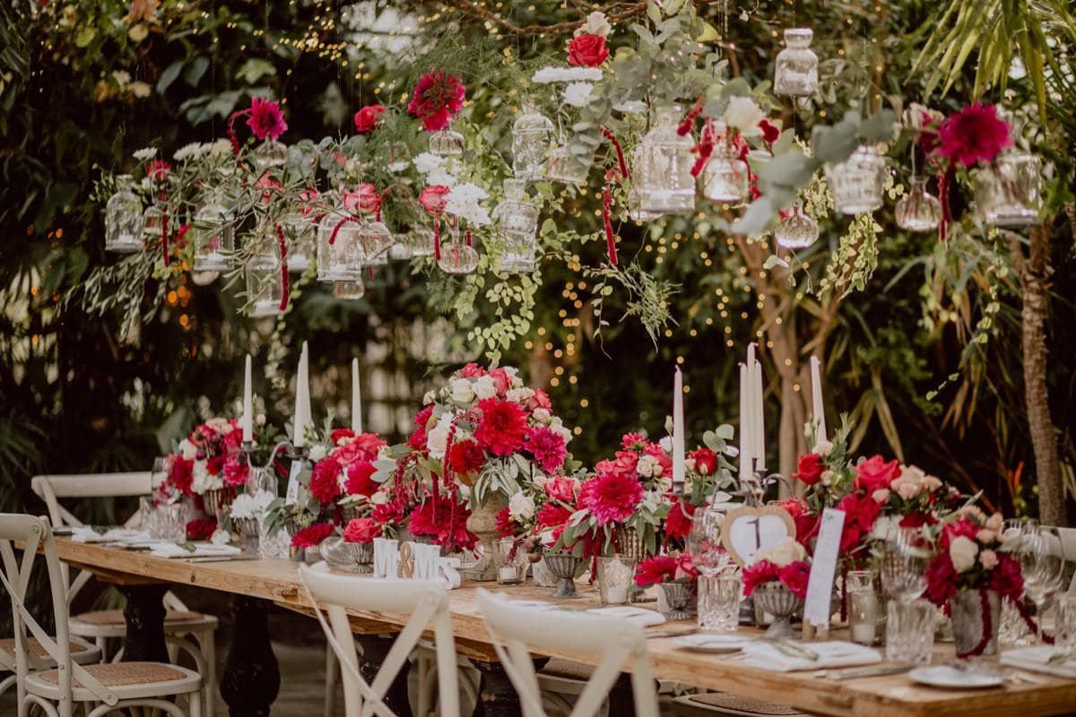 Alte Gärtnerei München Blumen Hochzeit Heiraten Dinner Location
