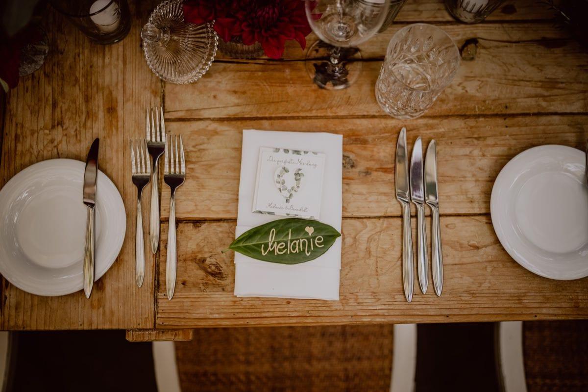 Dinner Deko Hochzeit