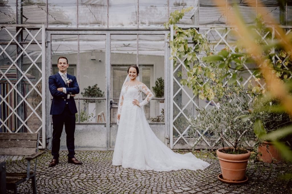 Hochzeitsfotograf München Alte Gärtnerei