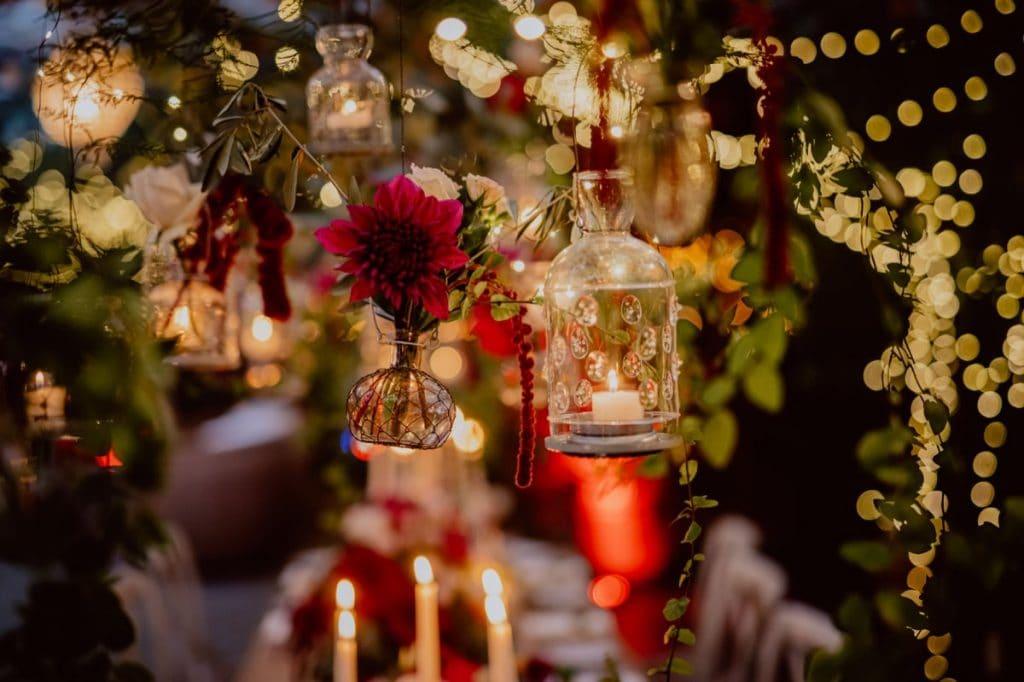 Deko Dekoration Hochzeit Blumen Kerzen Alte Gärtnerei Taufkirchen