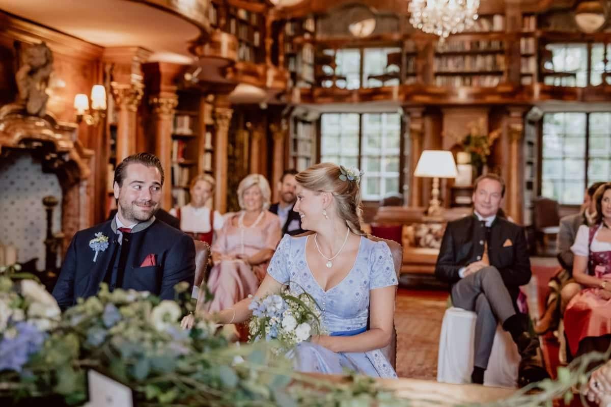 Standesamtliche Hochzeit Leopoldskron Salzburg Fotograf