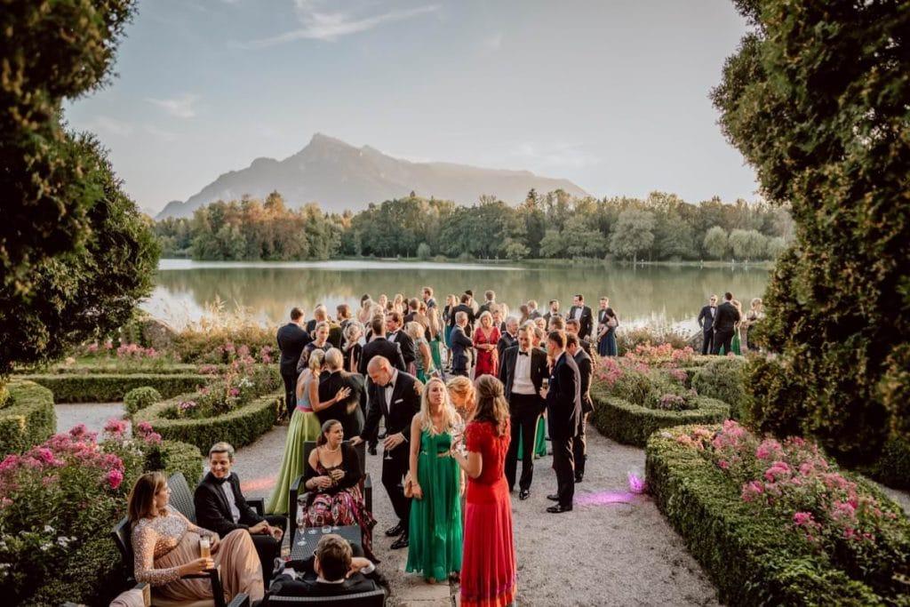 Hochzeitsfotograf Hotel Schloss Leopoldskron Salzburg
