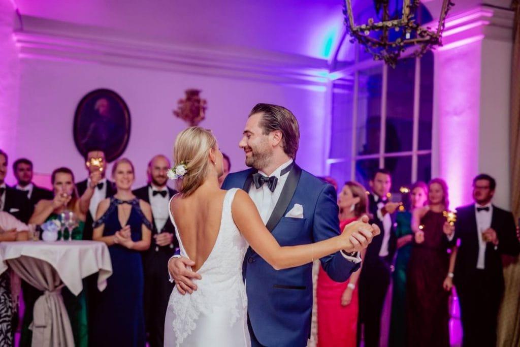 Hochzeitstanz Hochzeitsfotograf Leopoldskron Ballsaal Salzburg